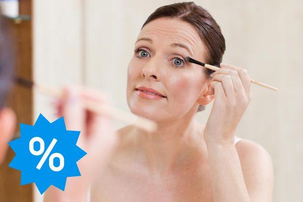 Rabatt auf Kosmetik
